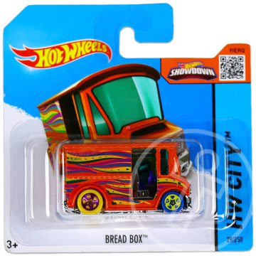 Hot Wheels City: Bread Box kisautó - narancs