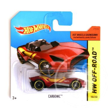 Hot Wheels: Carbonic kisautó 1/64 - Mattel