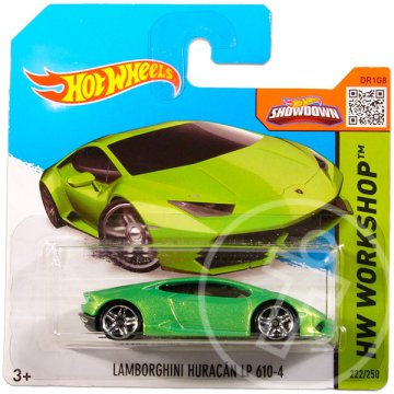 Hot Wheels Workshop: Lamborghini Huracán LP 610-4 kisautó