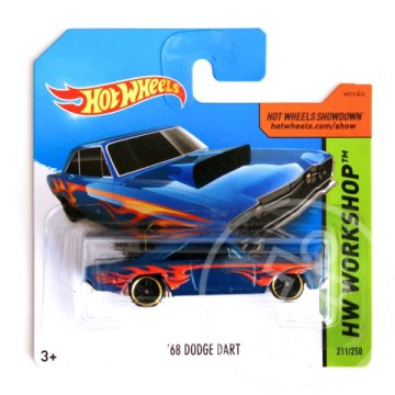 Hot Wheels: ''68 Dodge Dart kisautó - Mattel