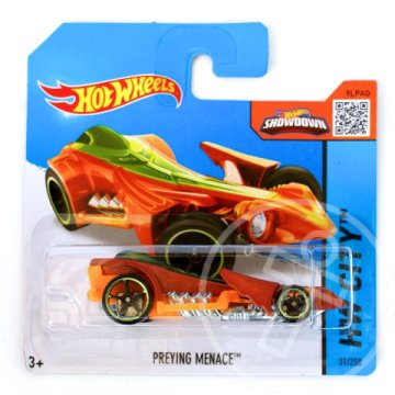 Hot Wheels: Preyinge Menace kisautó 1/64 narancssárga - Mattel
