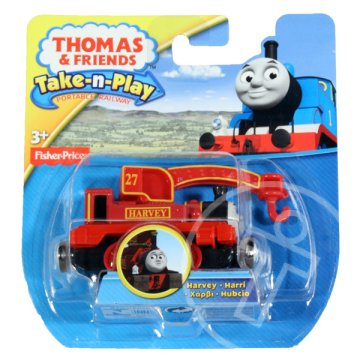 Thomas: Harvey a darus mozdony (TA-TP)