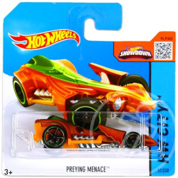 Hot Wheels City: Preying Menace kisautó - narancs