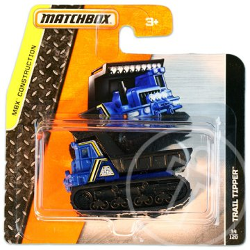 Matchbox: MBX Construction: Trail Tipper kisautó - kék