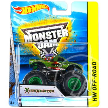 Hot Wheels Off-Road: Monster Jam terepjárók - X-Termingator