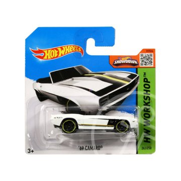 Hot Wheels Workshop: 69 Camaro kisautó