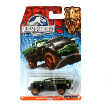 Matchbox Jurassic World: Sahara Survivor kisautó 1/64 - Mattel