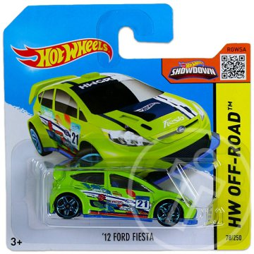 Hot Wheels Off-Road: 12 Ford Fiesta