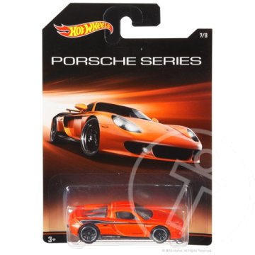 Hot Wheels Porsche Series: Porsche Carrera GT kisautó 1/64 - mattel