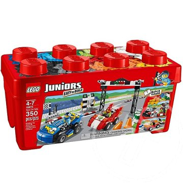 Lego Juniors: Versenyautó rally (10673)