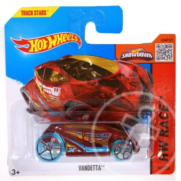 Hot Wheels: Vandetta kisautó 1/64 - Mattel