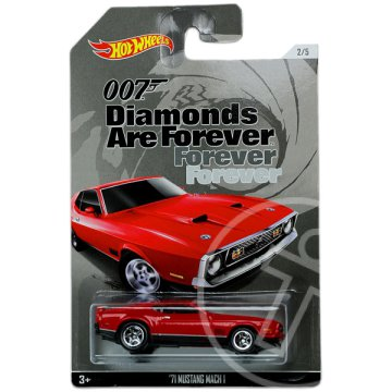 Hot Wheels 007: 71 Mustang Mach 1