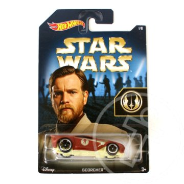 Hot Wheels Star Wars: Scorcher Obi-Wan Kenobi kisautó 1/64 - Mattel