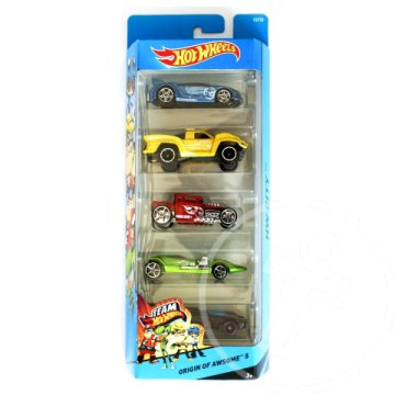 Hot Wheels: Origin of Awsome 5db-os kisautó szett - Mattel