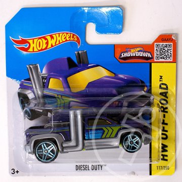 Hot Wheels: Diesel Duty kisautó 1/64 - Mattel