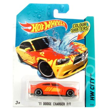 Hot Wheels City: színváltós 11 Dodge Charger RT kisautó