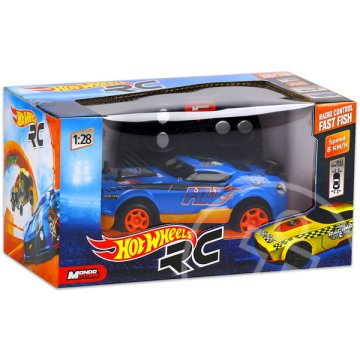 Hot Wheels: RC Fast Fish - kék, 1:28