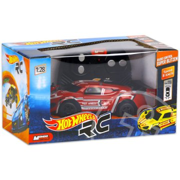 Hot Wheels: RC Super Blitzen - piros, 1:28