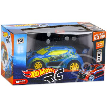 Hot Wheels: RC Fast 4WD - kék, 1:28