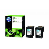 HP CH563EE/301XL duo pack, patron, fekete