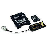 Kingston 32Gb Gen2 MicroSDHC adapterrel + USB Class 10