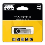 Pendrive 8GB GOODRAM Twister USB2.0, fekete