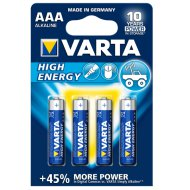 HIGH ENERGY AAA 4BL 1,5V 1240 MAH   ELEM
