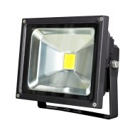 CHIP LED REFLEKTOR 20W 1500LM IP44  6500K 50000H FEKETE (303286)
