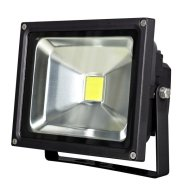 CHIP LED REFLEKTOR 20W 1500LM IP44  6500K FEKETE 50000H (296482)