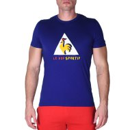 Pop Sportif Tee N°2 SS M ultra blue