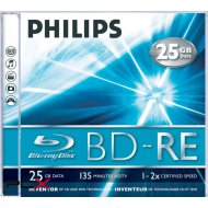 Philips BD-RE25 25Gb 2x RW Blu-Ray