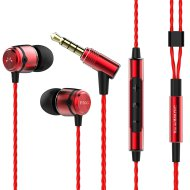 SoundMAGIC E50C piros headset