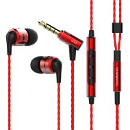 SoundMAGIC E80C piros headset