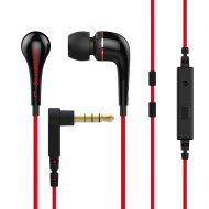 SoundMAGIC ES11S piros headset