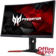 "Acer 27"" Predator Z271bmiphzx LED HDMI DisplayPort G-Sync 144Hz-es multimédiás ívelt gamer monitor"