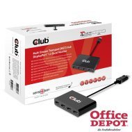 CLUB3D Displayport -4x Displayport HUB