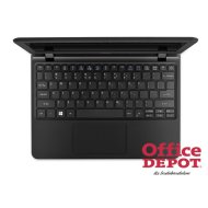 "Acer Aspire ES1-132-C984 11,6""/Intel Celeron N3350/4GB/64+500GB/Int. VGA/fekete laptop"