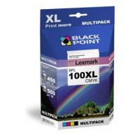 Black Point multipack BPL100XLCMYK (Lexmark) 4 színű