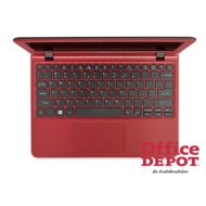 "Acer Aspire ES1-132-C7VA 11,6""/Intel Celeron N3350/4GB/32GB/Int. VGA/Win10/piros laptop"