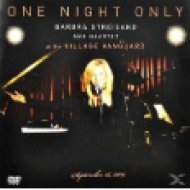 One Night Only - Barbra Streisand and Quartet at The Village Vanguard DVD+CD