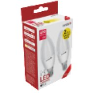 ABC14WW-6W-APTP LED Gyertya Twin Pack 6W E14 WW