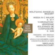 "Missa In C Major, K.317 ""Coronation"" - Vesperae Solennes De Confessore K.339 CD"