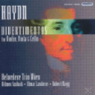 Divertimentos for Violin, Viola and Cello CD
