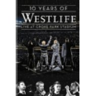 10 Years Of Westlife - Live At Croke Park Stadium DVD