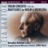Bartók New Series - Violin Concerto, Rhapsodies for Violin Hybrid SACD