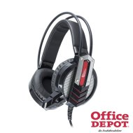 White Shark GH-1643 COUGAR fekete Gaming headset