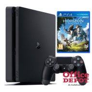 Sony PlayStation 4 Slim 1TB  konzol + Horizon Zero Dawn játék + 2 db Contoller