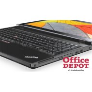 "LENOVO ThinkPad L570 20JRS0CX00 15,6""FHD/Intel Core i3-6100/8GB/256GB/Int. VGA/Win10 Pro/fekete laptop"