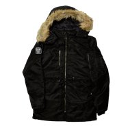 MENS PARKA BLACK