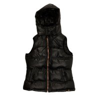 SNOWBALL WOMENS VEST BLACK